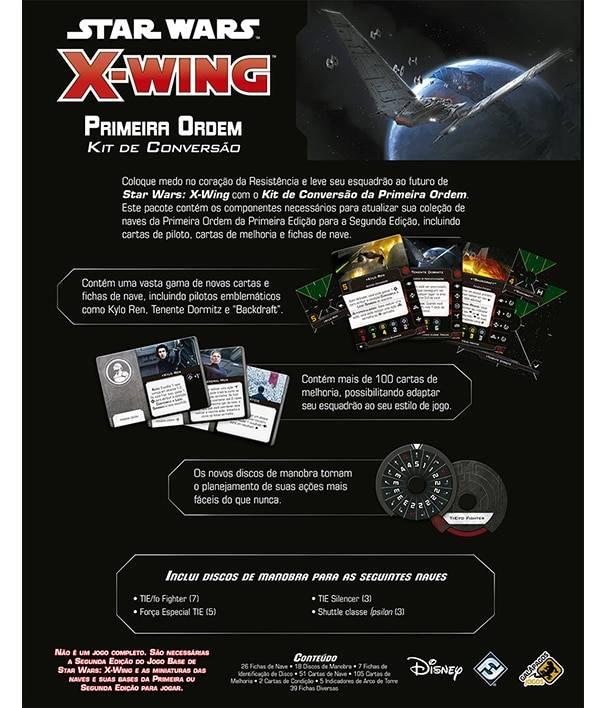 Star Wars X-Wing - Kit de Conversão Primeira Ordem Expansão X-Wing 2.0