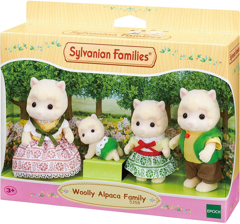 Sylvanian Families - Família das Alpacas