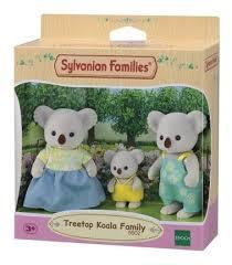 Sylvanian Families - Família dos Coalas Copa de Árvore