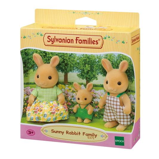 Sylvanian Families - Família dos Coelhos Raio de Sol