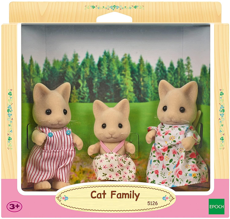 Sylvanian Families - Família dos Gatos