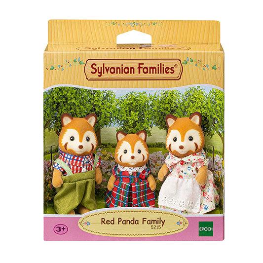 Sylvanian Families - Família dos Pandas-Vermelhos