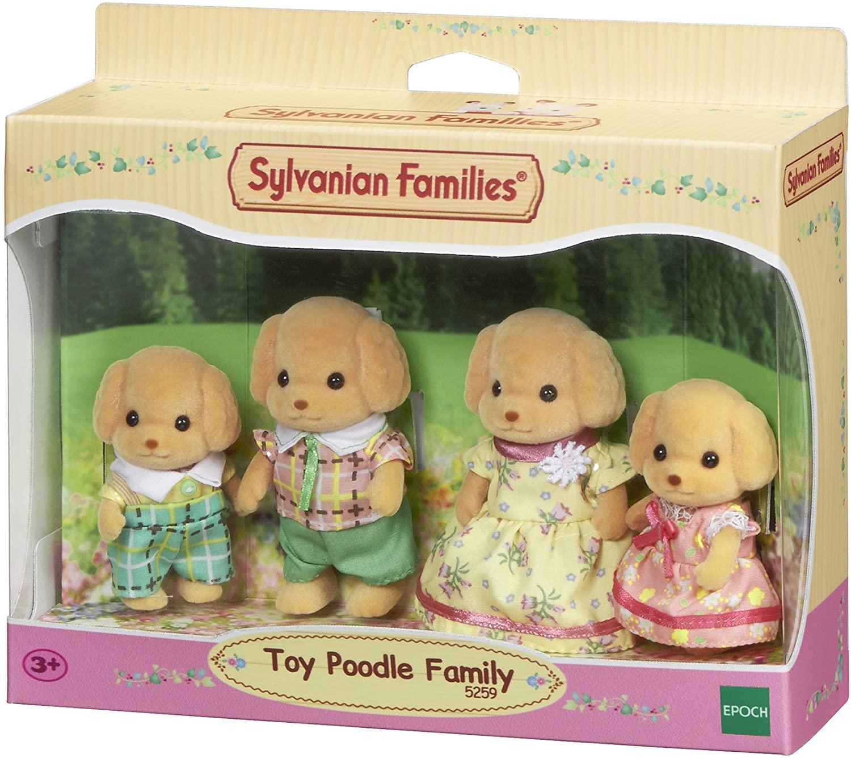 Sylvanian Families - Família dos Poodles Toys