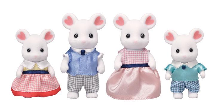 Sylvanian Families - Família dos Ratos Marshmallow