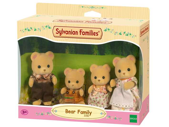 Sylvanian Families - Família dos Ursos