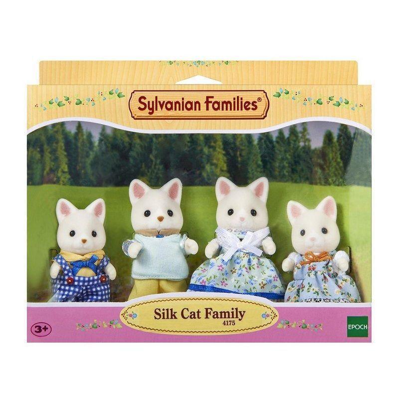Sylvanian Families -  Família Gato de Seda