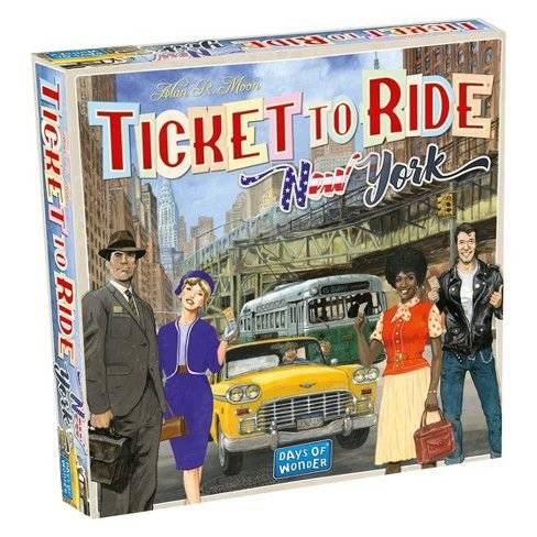 Ticket to Ride - New York - Galapagos Jogos