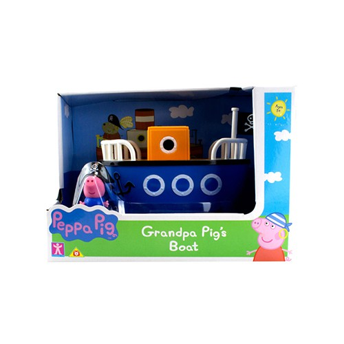 Veículo Da Peppa - Barco do Vovô Pig