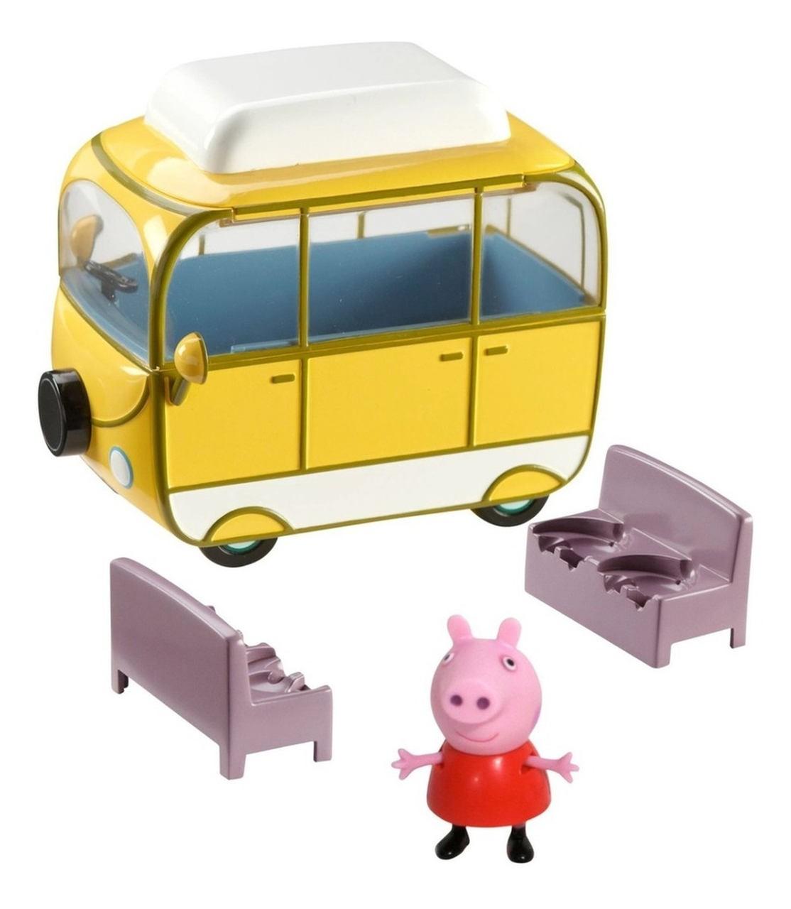 Veículos Peppa - Van de Acampar