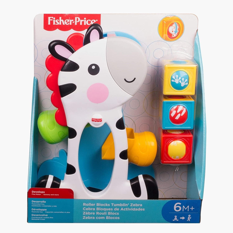 Zebra Blocos Surpresa - Fisher Price