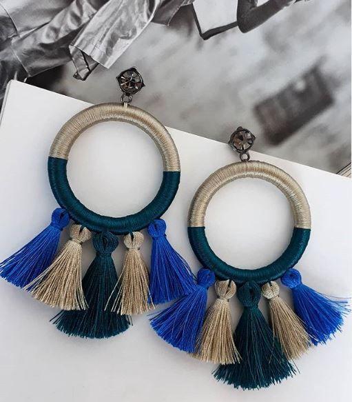 Brinco Miss Sushine Azul