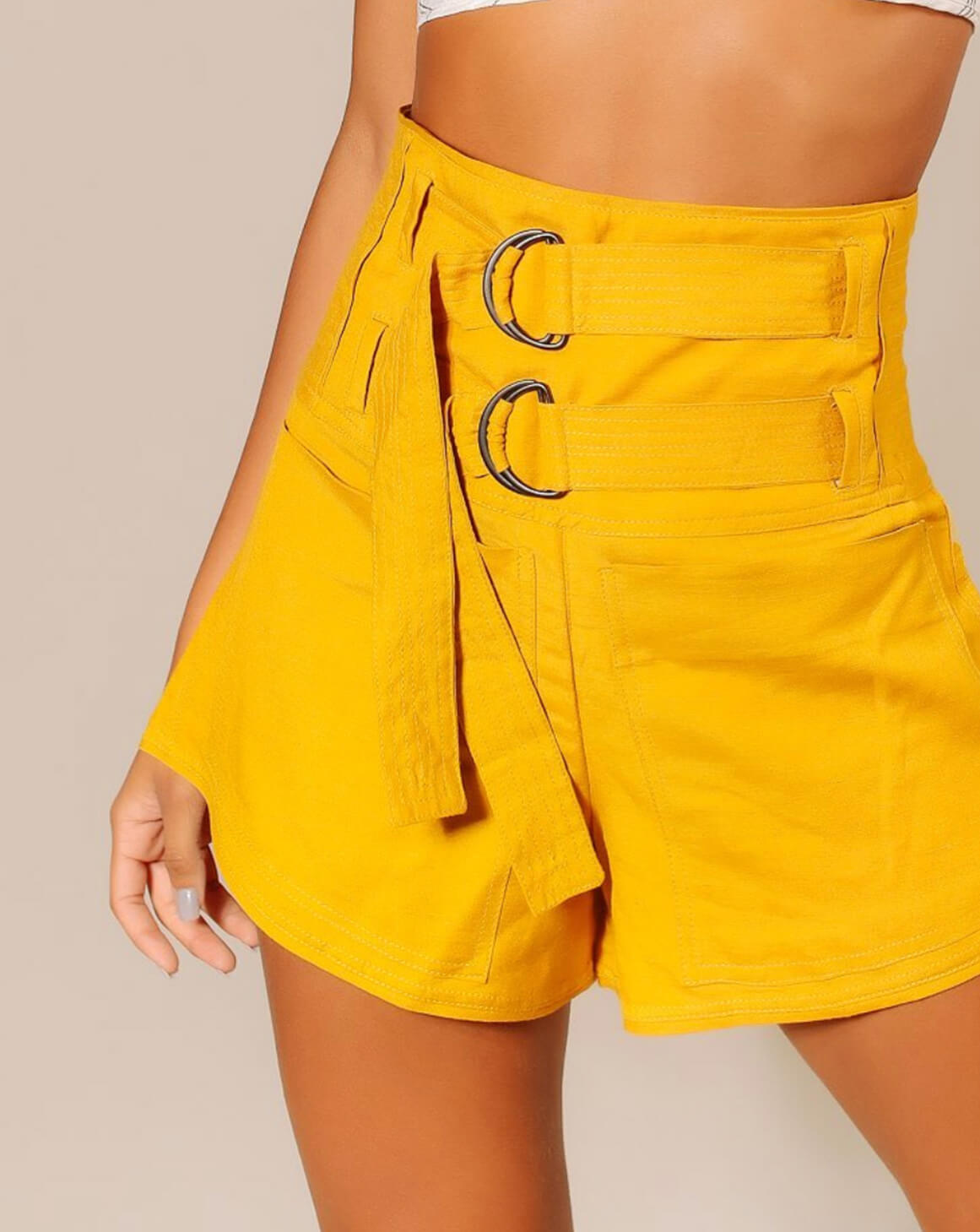 Shorts Pocket Gold