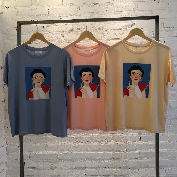 T-Shirt Frida Brinco