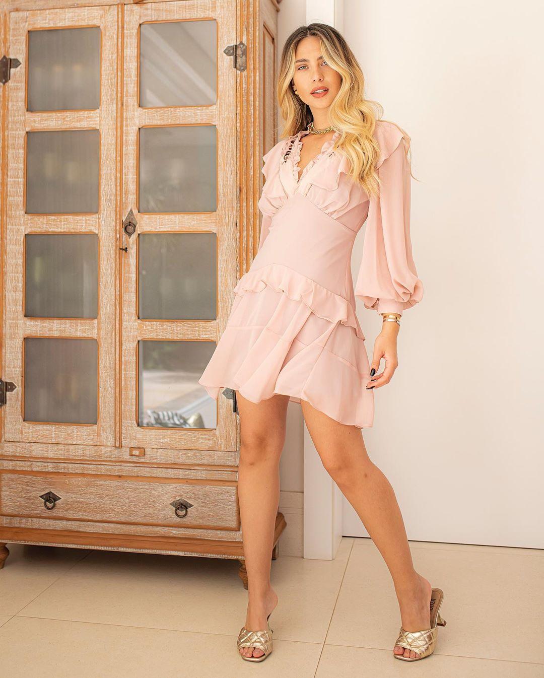 Vestido Chiffon Marina