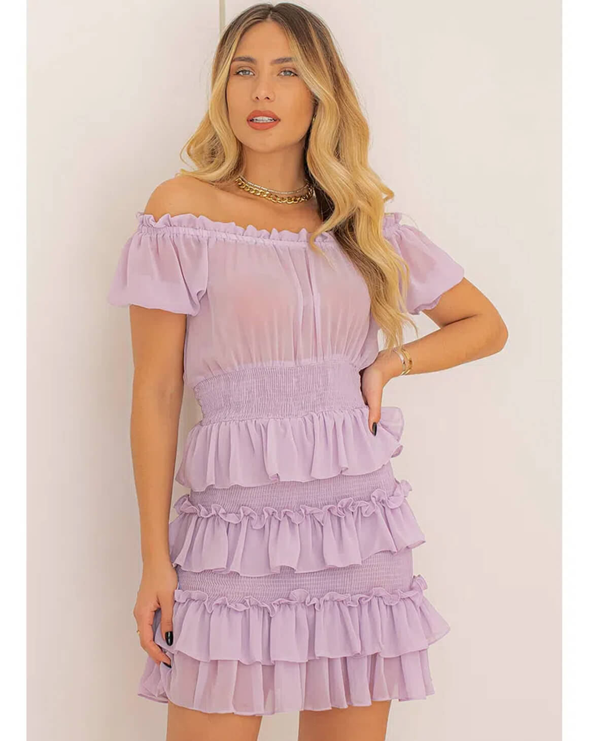 Vestido Chiffon Milena