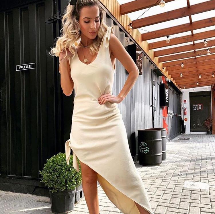 Vestido Gaia Linho