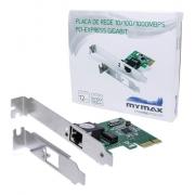 Placa de Rede Ethernet 10/100/1000Mbps PCI Express Gigabit