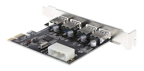 Placa Usb 3.0 Pci-e 4 Portas 5gbps Pc Desktop