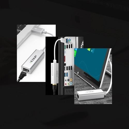 Adaptador Ethernet Gigabit 1000 Mbps USB 3.0 Edup
