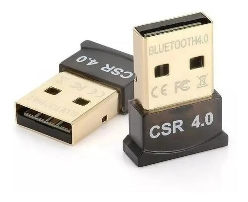 Adaptador Receptor Bluetooth 4.0 USB para PC e  Notebook