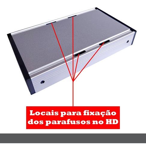 Case para HD de 3.5 Sata USB 3.0 para PC Desktop Notebook PS3 PS4 Xbox