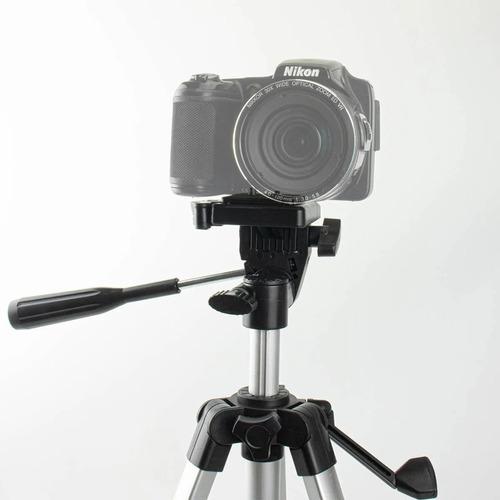 Tripé para Celular e Câmera 1,3m Com Bolsa