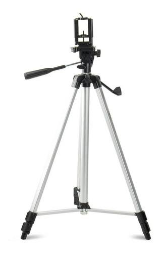 Tripé para Celular e Câmera 1,5m Com Bolsa