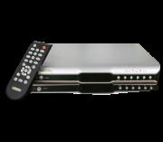 Receptor Digital DVB-S Banda C e Ku com Controle Remoto