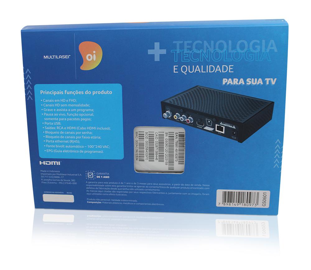 Receptor Digital Oi TV