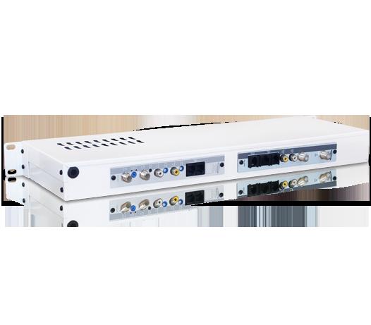 Receptor Digital Satélite DVB-S Modulado à Canal Adjacente VHF/Cabo (Superbanda)