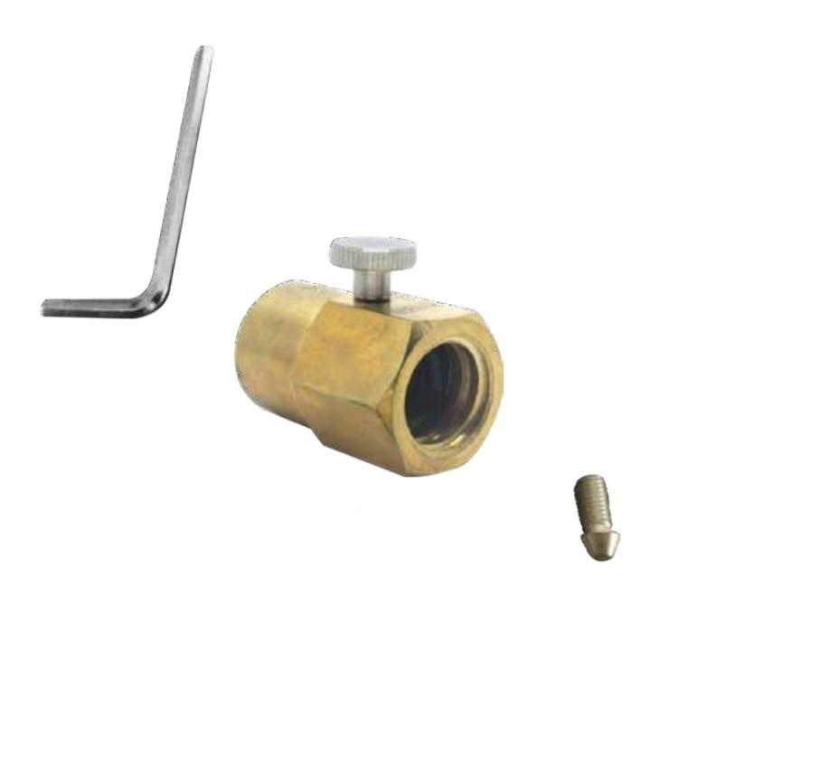 Adaptador para encher cilindros CO2 (padrão Sodastream)