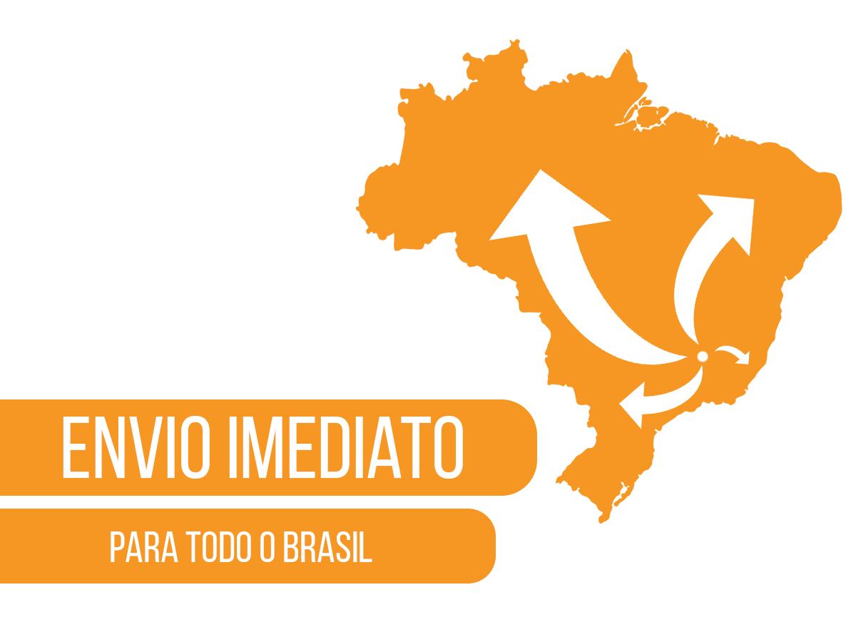 """Adaptador para fixar mangueiras nas mini reguladoras rosca 3/8"""" - 24UNF"""