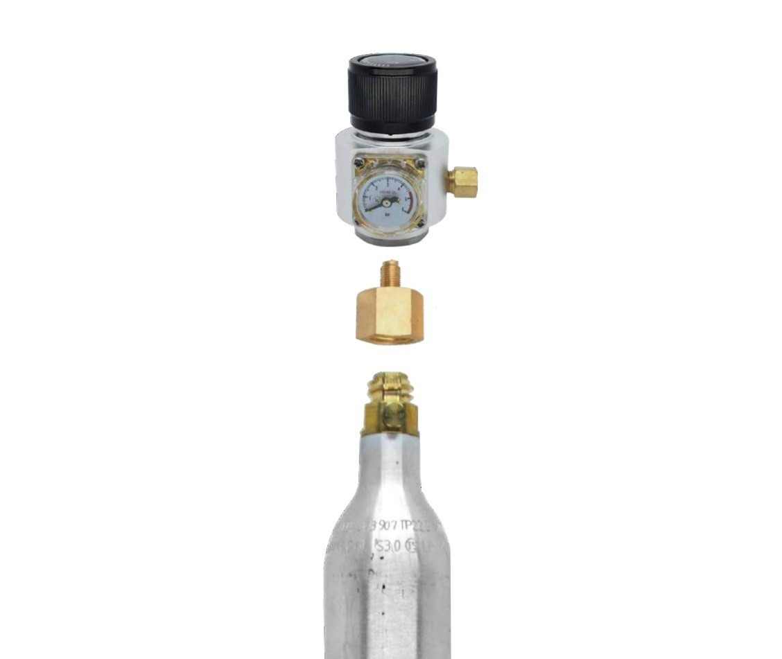"Adaptador Sodastream 6ACME (Europa/USA) para mini reguladoras 3/8"" - 24UNF"