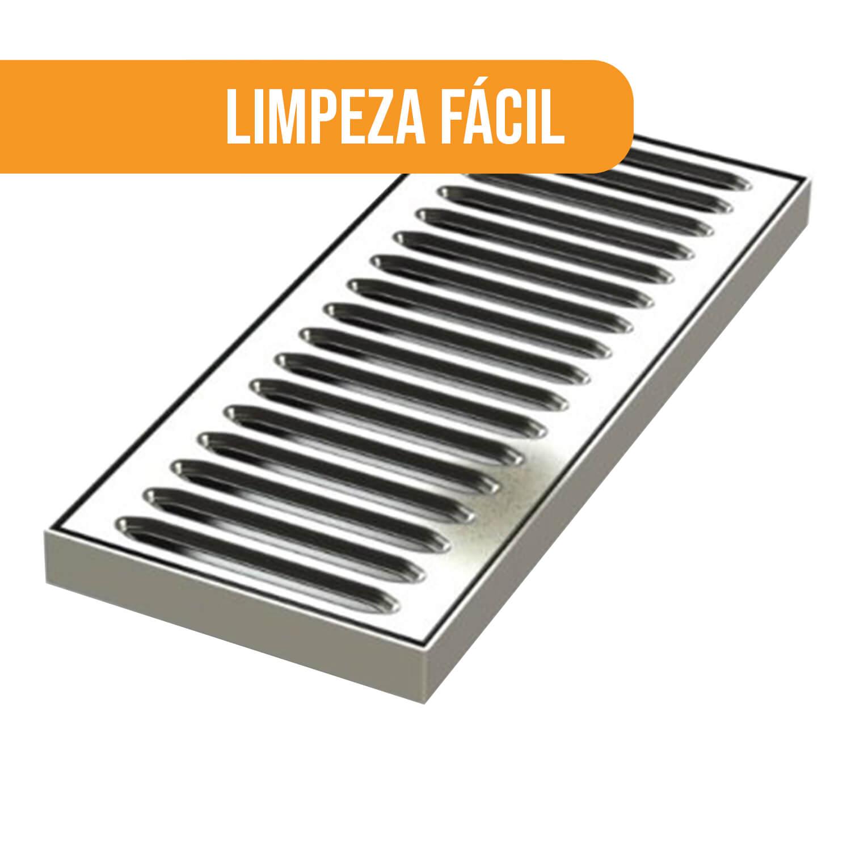 Aparador Inox para Chopeira 13x20cm