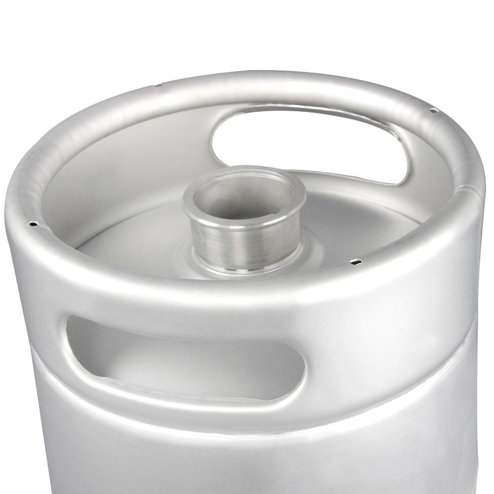 Barril de Chopp 10 Litros SLIM - Aço Inox 304