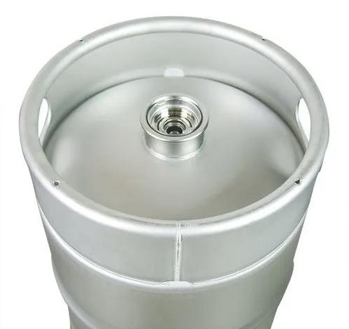 Barril de Chopp 30 Litros SLIM - Aço Inox 304