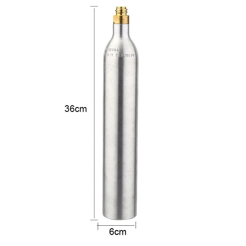 Cilindro de Alumínio para CO2 - 400g para Chopeira