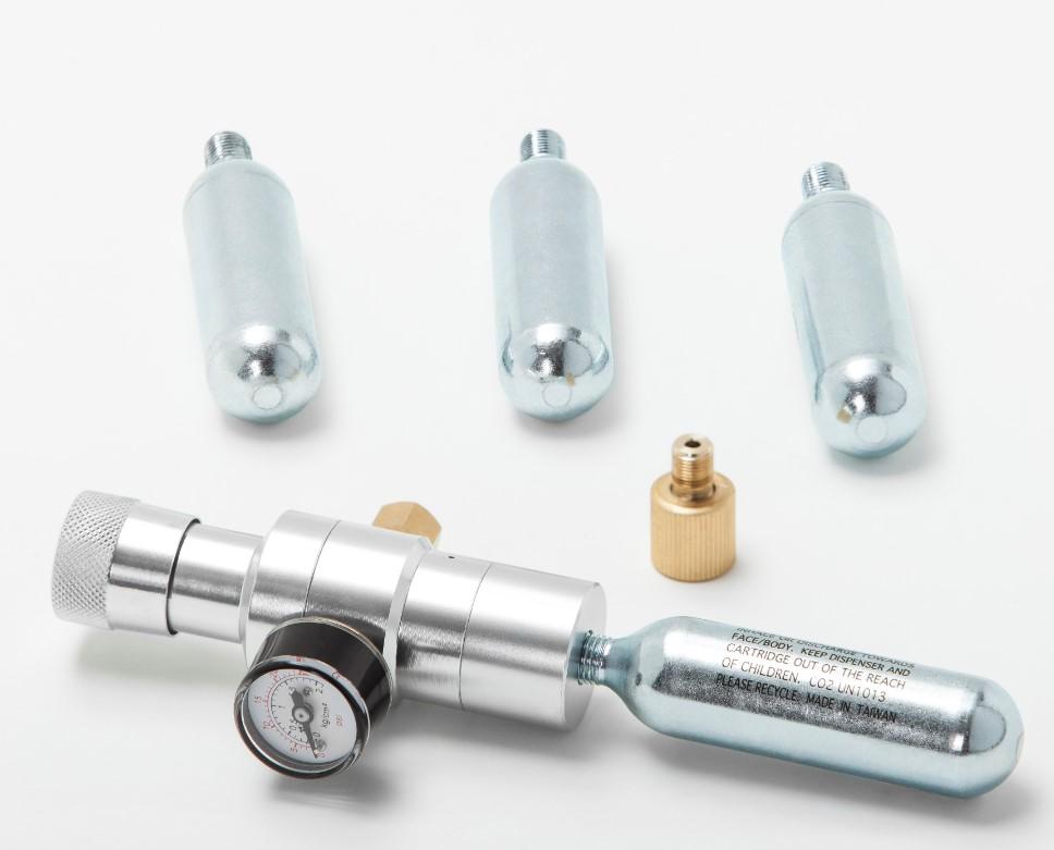 Mini Cilindro Cartucho de Co2 Para Chopp 25g 04 Unidades