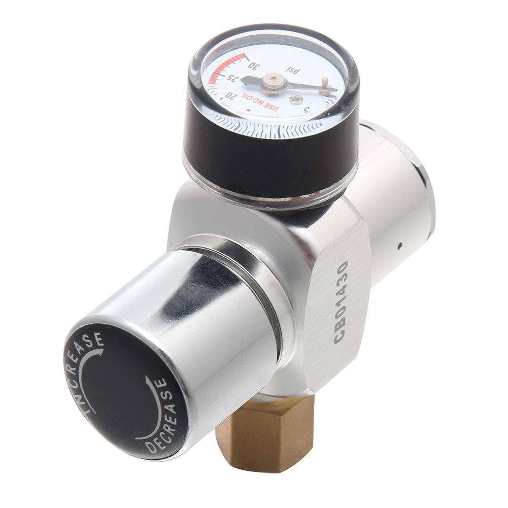 Mini Reguladora CO2 (0-30psi) Manômetro - Micro
