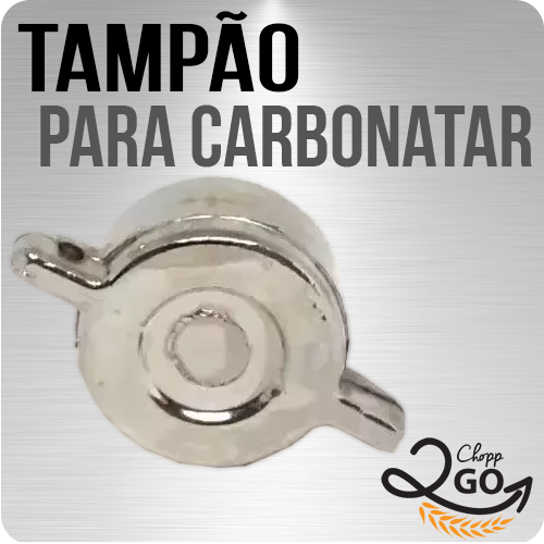 Tampão para Carbonatação Forçada para Válvula Extratora