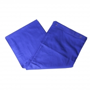 Cortina Provador Azul
