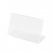 Kit Porta Preço Transparente 7x4,5cm - 50 Unidades