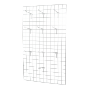 Kit Tela 60x100cm + 10 Ganchos 15cm