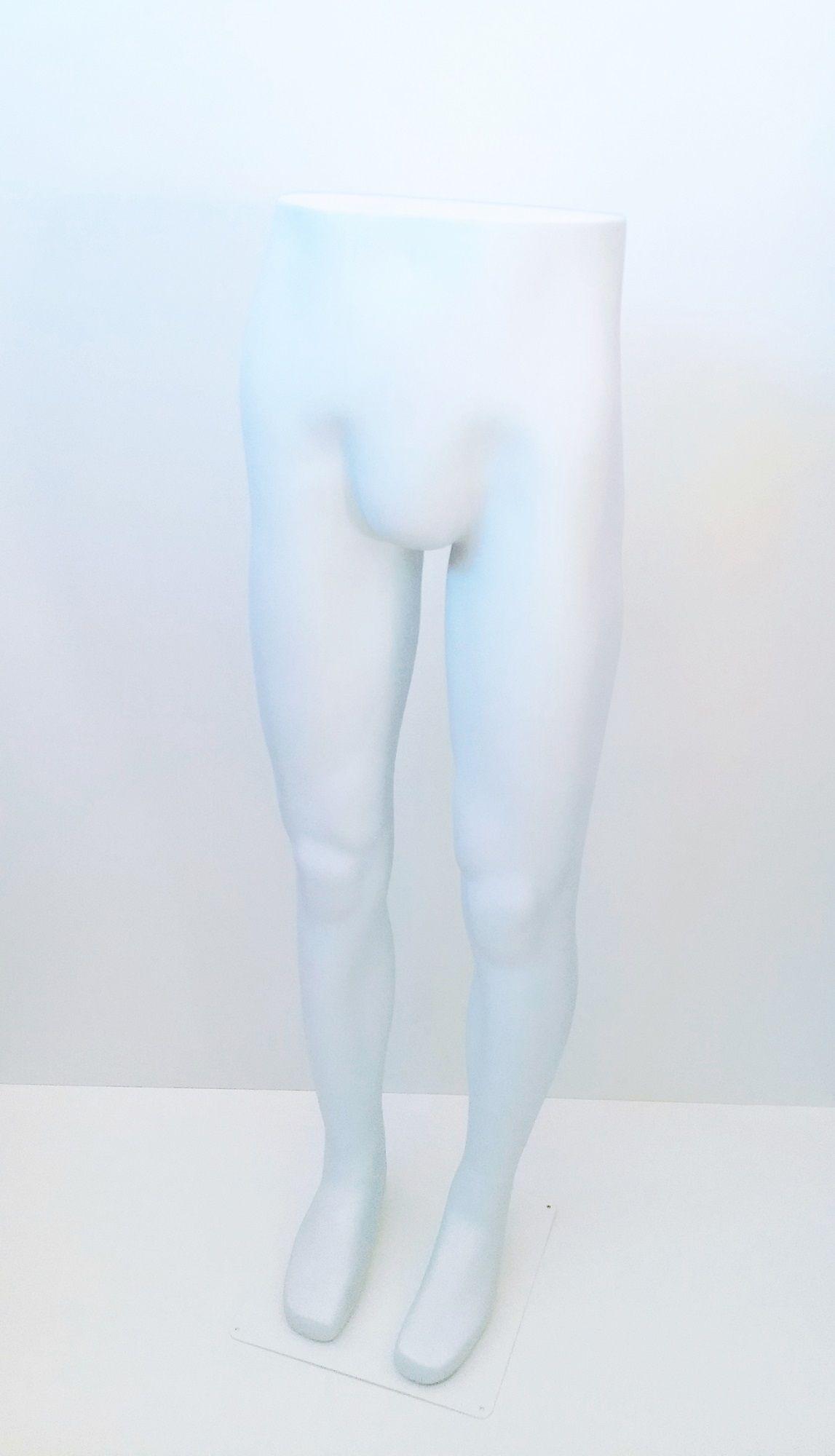 Expositor Calça Masculino Branco com Base