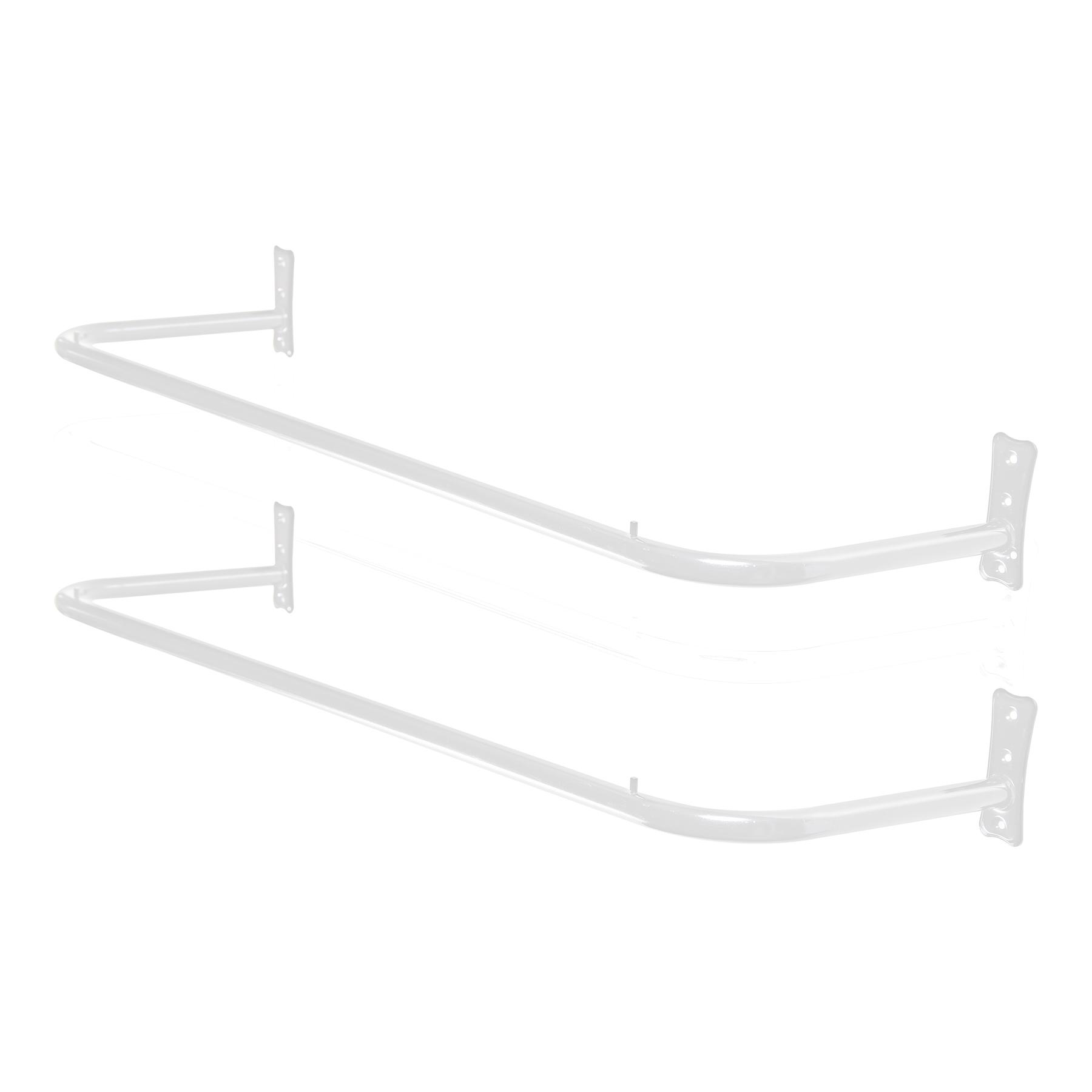 Kit Arara Fixa de Parede 1,20mt - 2 Unidades