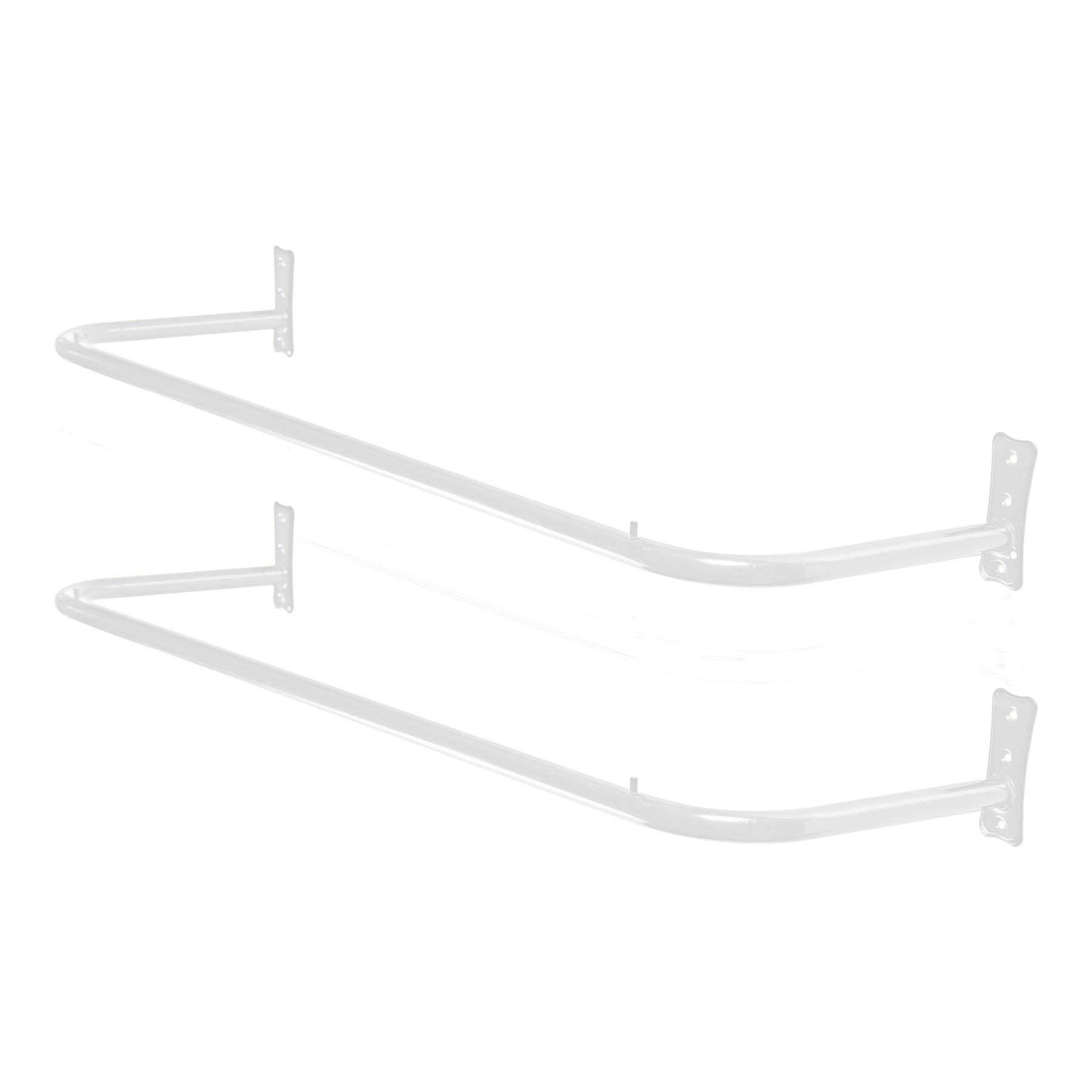 Kit Arara Fixa de Parede 1,50mt - 2 Unidades
