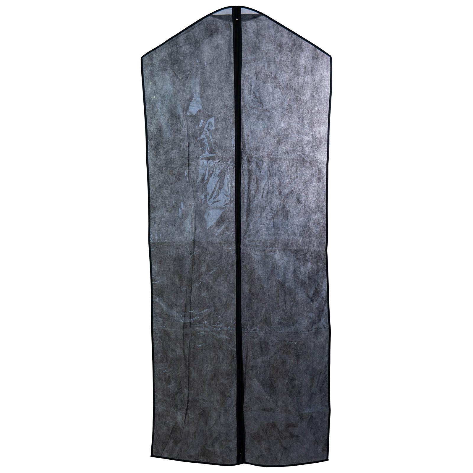 Kit Capa Vestido Zíper Preto - 10 Unidades