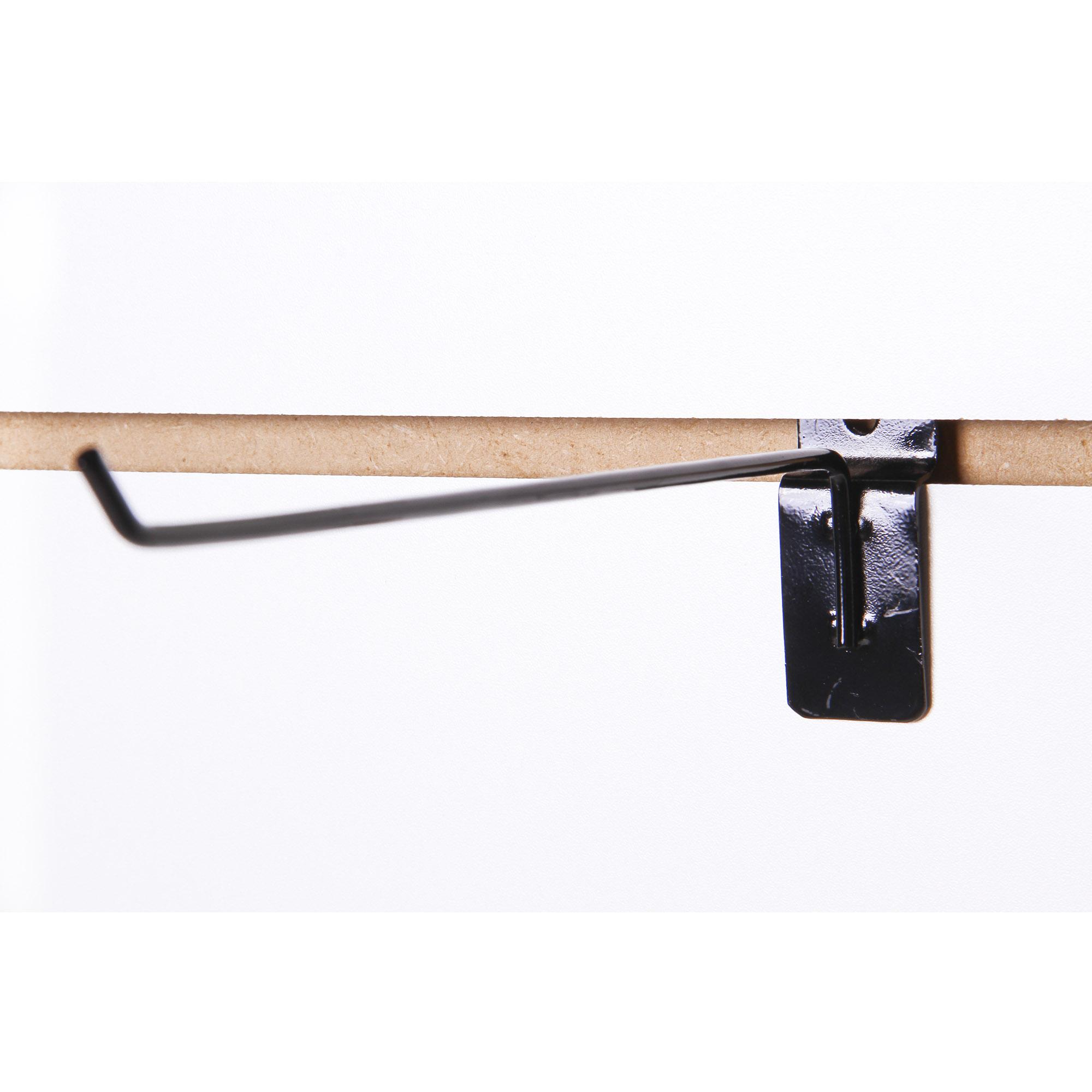 Kit Gancho Painel Canaletado 25cm - 50 unidades