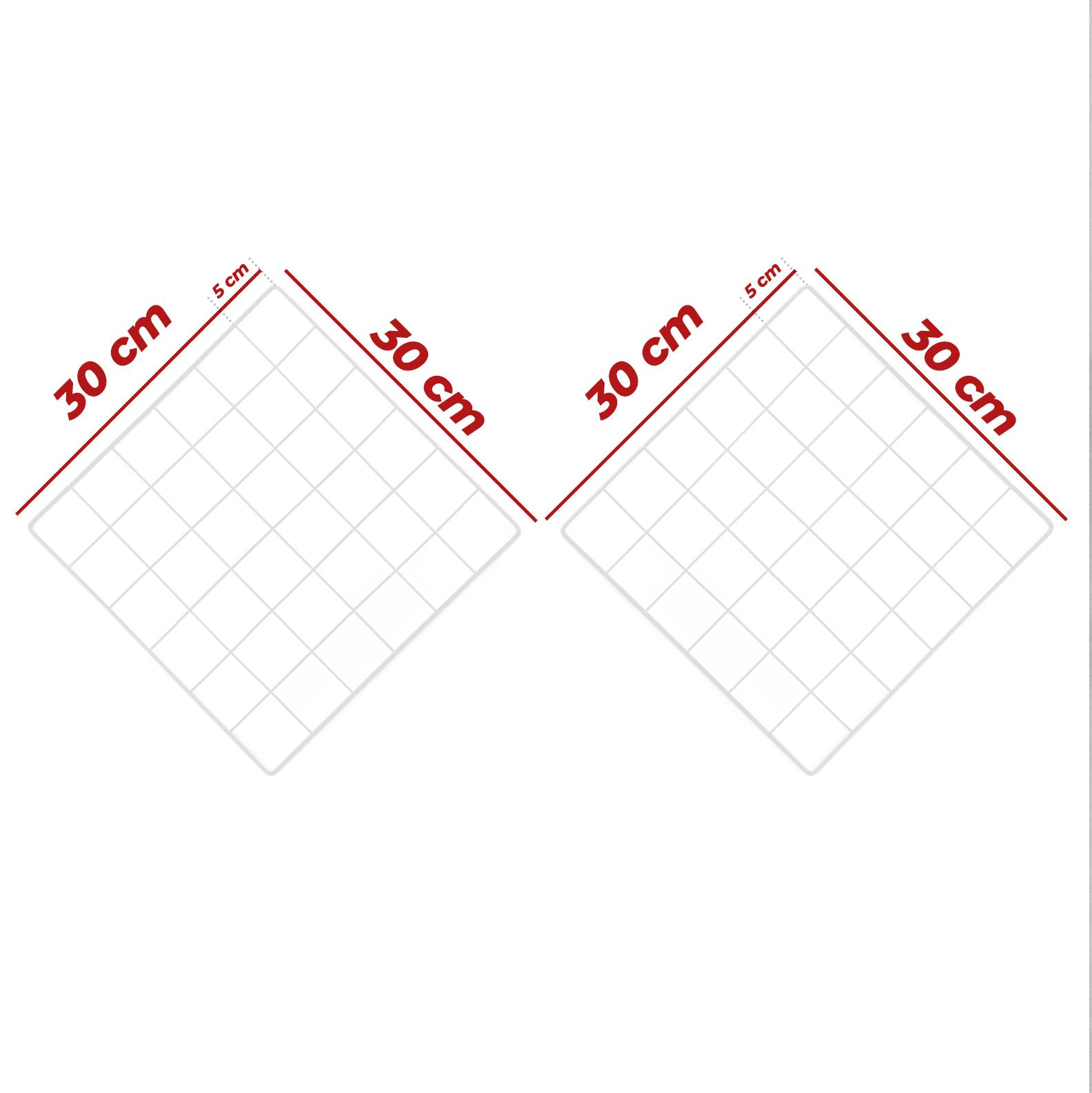 Kit Tela Mural Memory Board 30x30cm - 2 Unidades