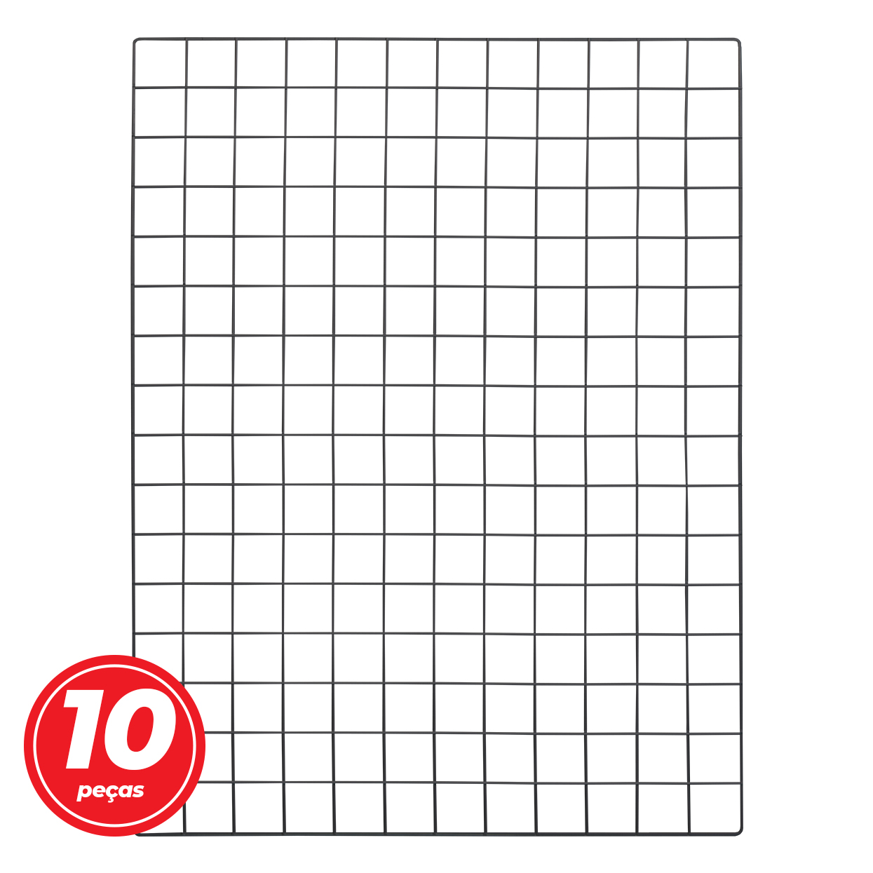 Kit Tela Mural Memory Board 60x80cm - 10 Unidades